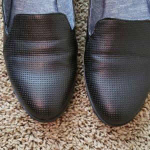 Dr Scholls Memory Foam Cool Fit Flats. Black